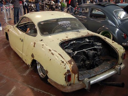 Хардкорный Rat-Look – Volkswagen Karmann Ghia 57