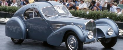 Bugatti Type 57SC Atlantic был продан на аукционе за 30 миллионов долларов