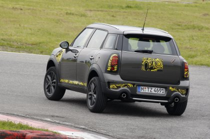 Mini Countryman почти на конвейере