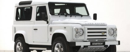 Land Rover Defender 90 Yachting Edition – сухопутная яхта от Startech!