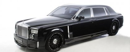 Ещё более эксклюзивный Rolls-Royce Phantom Extend Wheelbase от Wald Interna ...