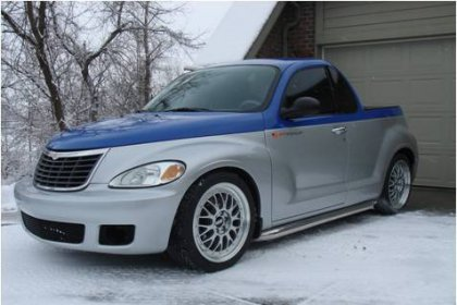 Пикап Chrysler PT Cruiser с движком от Dodge Viper!