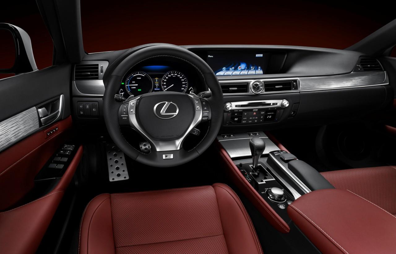 Lexus gs f sport gs for Lexus rx 350 f sport red interior