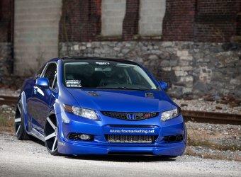 SEMA 2011: Honda Civic Si от ателье Fox Marketing