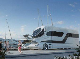 Elemment Palazzo – сухопутная яхта с дизайном Луиджи Колани
