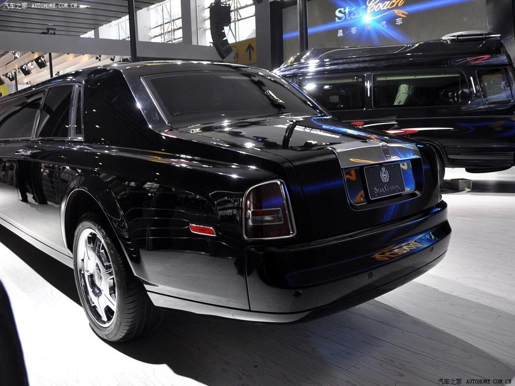 Rolls Royce Limuzin >> Китайская компания Star Customs создала 8-метровый лимузин на базе Rolls Royce Phantom