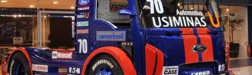 Ford представил новый гоночный грузовик для Formula Truck 2012