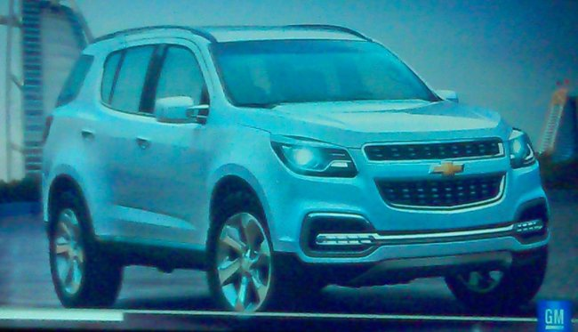 В сеть попало первое изображение возрожденного Chevrolet TrailBlazer