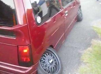 Экстремальный развал колес от японских тюнеров!