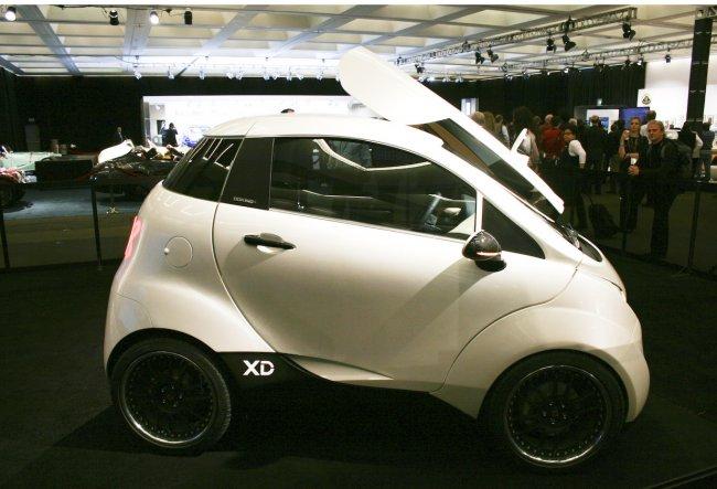 Doking XD – спортивный электромобиль из Хорватии