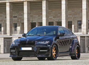 CLP Bruiser – пакет для тюнинга BMW X6 от CLP Automotive