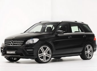 Brabus предложил свою программу для тюнинга модельной линейки Mercedes-Benz M-Class