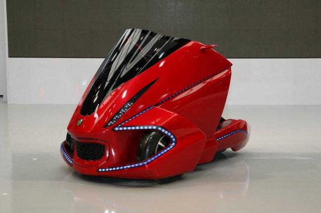 Токио 2011: концепты автоботов Kobot