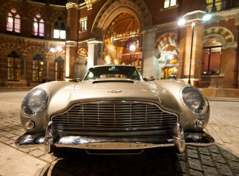 Aston Martin DB5 Джорджа Харрисона был продан за полмиллиона долларов