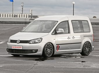 Ателье MR Car Design «уронило» Volkswagen Caddy Maxi