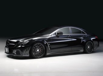 Mercedes-Benz CLS 63 AMG Black Bison от японских тюнеров из Wald