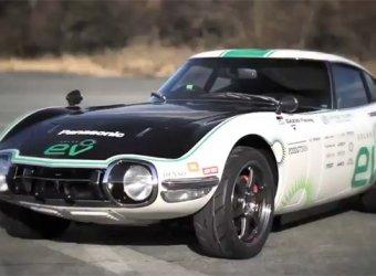 2000GT Solar EV – уникальный электромобиль на солнечных батареях