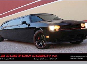 Лимузин на базе Dodge Challenger SRT-8 от LA Custom Coach