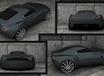 Концепт Aston Martin V8 Vantage от независимого дизайнера