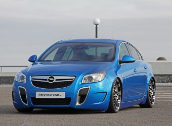 Ателье MR Car Design сделало седан Opel Insignia OPC ниже и мощнее