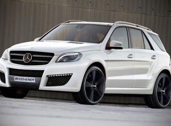 Новый стайлинг-пакет для Mercedes-Benz M-Class от Kicherer