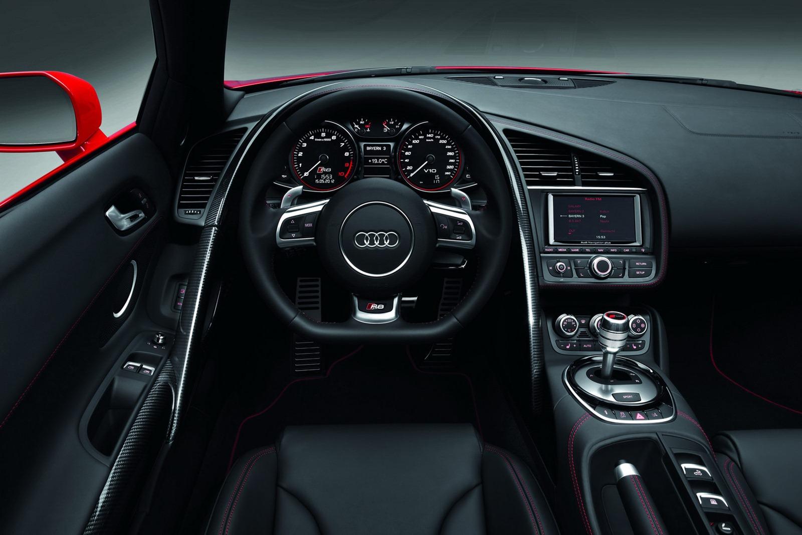 Audi представила обновлённый суперкар r8