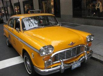 Checker Marathon — знаменитое Нью-Йоркское такси