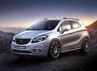 В придворном ателье Opel создали программу тюнинга кроссовера Mokka