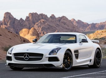 Mercedes-Benz представил 622-сильный суперкар SLS AMG Black Series