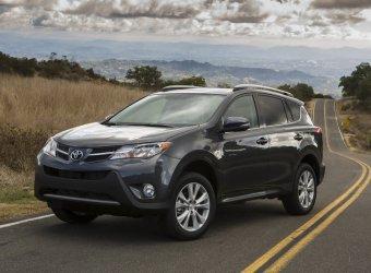 Toyota официально представила новый RAV4