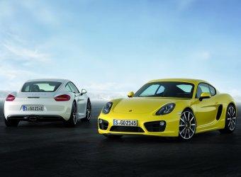 В Лос-Анджелес привезли Porsche Cayman нового поколения