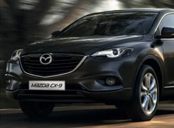 Цена на Mazda CX-9 2013 года существенно не изменилась